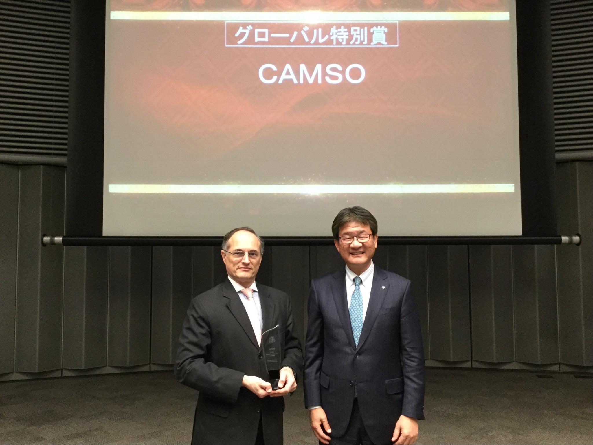 Toyota décerne deux prix importants à Camso à titre de partenaire clé