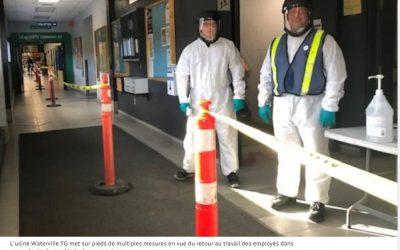 Waterville TG prête à reprendre ses activités de façon sécuritaire