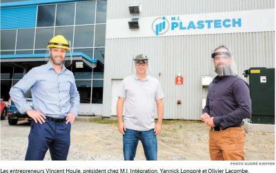 Le Québec inc. se réinvente: le plastique revient en force durant la pandémie
