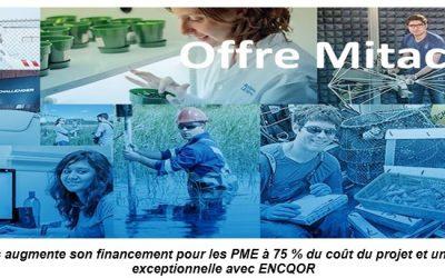 Mitacs augmente son financement pour les PME à 75 % du coût du projet et une offre exceptionnelle avec ENCQOR