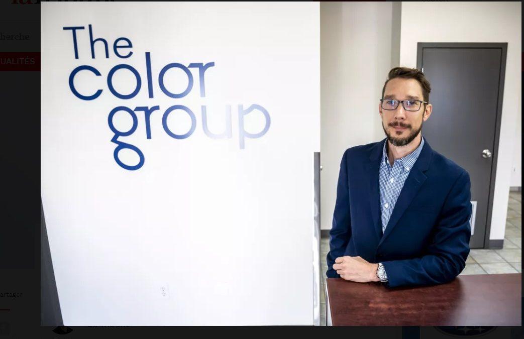 Félicitations Alexandre Nault, PDG Color Group – Mérite Estrien