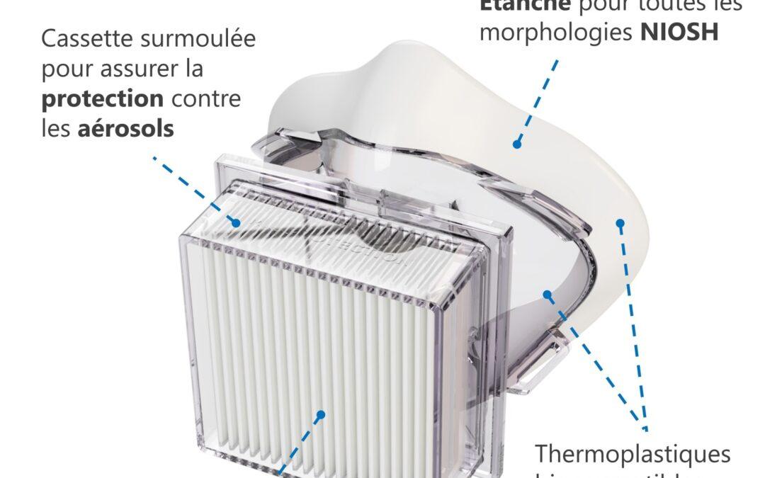 MI Protection, une division de MI Intégration fait l'acquisition des droits du respirateur DORMA99